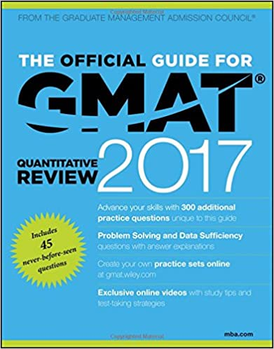 The Official Guide for GMAT Quantitative Review 2017 with Online ...