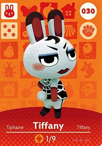 (Animal Crossing Happy Home Designer Amiibo Card Tiffany 030/100)