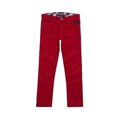 b82d70ea97c0 Sergent Major - Pants - Pantalon rouge Gericage - Grenat - 2 Ans ...