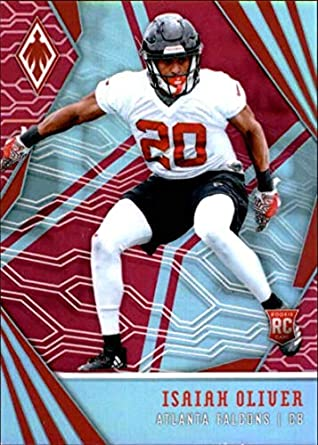detailed pictures 85872 7a989 Amazon.com: 2018 Panini Phoenix Pink #159 Isaiah Oliver ...