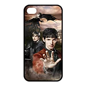 Merlin - Personalized TV Design TPU Case Protector Skin For Iphone 4 4s iphone4s-90661 by icecream design