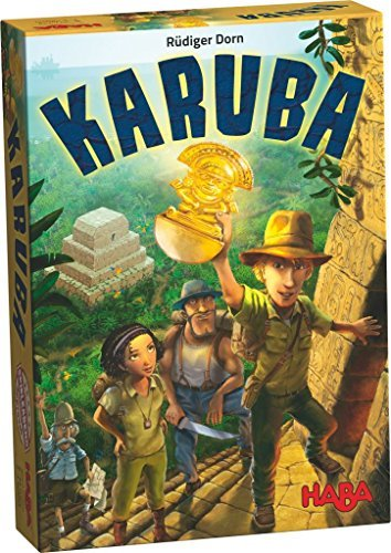 HABA Karuba - An Addictive Tile Laying Puzzle Game for the Whole Family