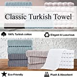 Classic Turkish Towels Luxury Ribbed Bath Sheets
