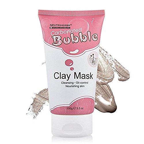 Máscara de arcilla de burbujas carbonatada, disfruta de la increíble máscara de burbujas y descubre todos sus beneficios para el cuidado facial de la piel, ...