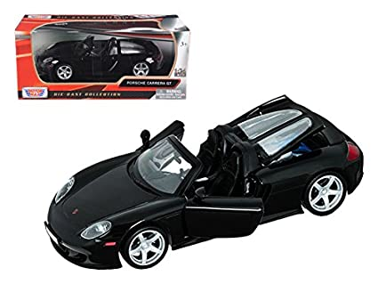 Maisto Porsche Carrera GT Black 1/24 Car Model by Motormax
