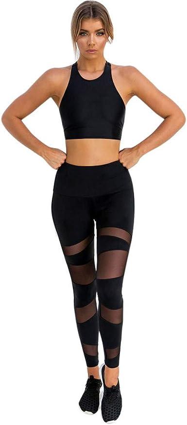 Fashion Women Ladies Legging Gym Yoga Fitness Lounge Athletic Cropped Pant Black