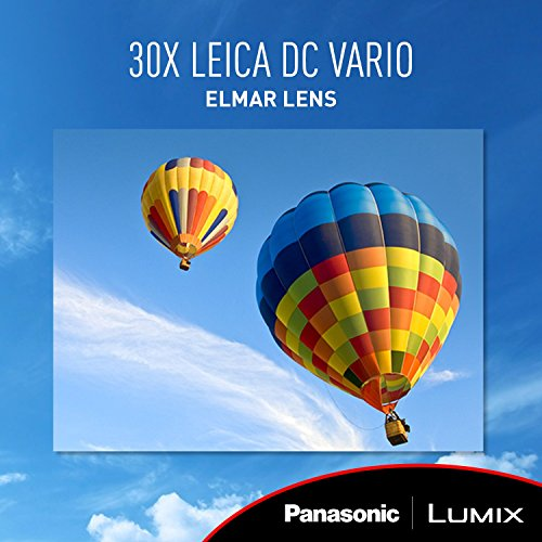 Panasonic Lumix 4K Digital Camera with 30X LEICA DC VarioELMAR Lens F3364 18 Megapixels and High Sensitivity Sensor  Point and Shoot Camera  DMCZS60K BLACK