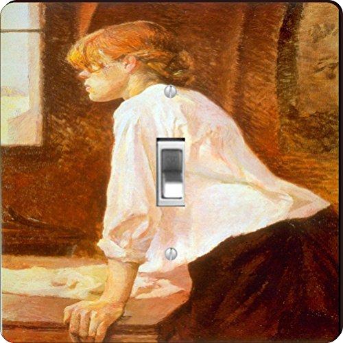 Rikki Knight RK-LSPS-3432 Toulouse Lautrec Art The Laundr...