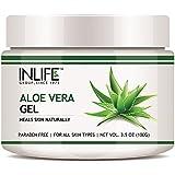 INLIFE Aloe Vera Gel, Paraben Free - 100 g