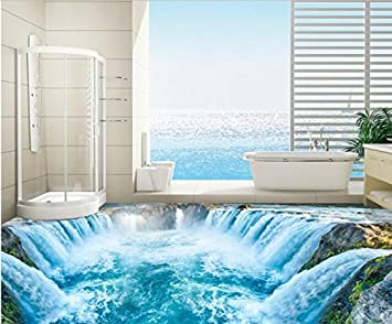 3d Fußboden Fürs Badezimmer ~ Malilove d pvc bodenbeläge custom d badezimmer bodenbeläge
