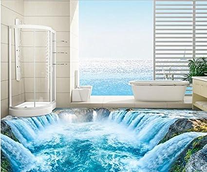 Malilove 3d pavimento in pvc custom 3d pavimenti bagno wallpaper ...