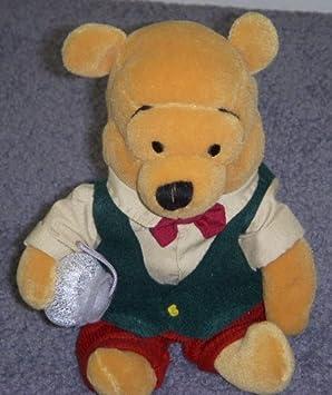 Style Vintage Motif sapin de Noël Disney Winnie l'Ourson - 20 cm-Poupée et Mini-Poupée-Peluche-Bean Bag