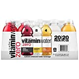 Glaceau Vitamin Water Zero Variety Pack, 20 Count (400 Fluid Ounce)