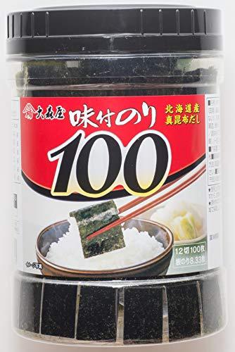 일본 식탁김 오오모리야 아지츠케 노리 N 맛을 낸 탁상 100매 - 2개이상 구매가능