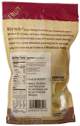 Woodstock All-Natural Mango Slices, Low Sugar, 7.5 Ounce by Woodstock (Image #3)