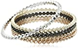 Kendra Scott Women's Remy Bracelet Mixed Metal Set Bracelet