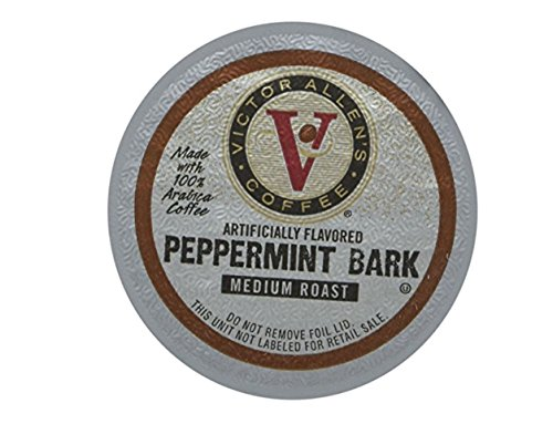 (Victor Allen Coffee Pods, Peppermint Bark, 42 Count)