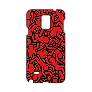 Red men pattern 3D Phone For LG G2 Case Cover