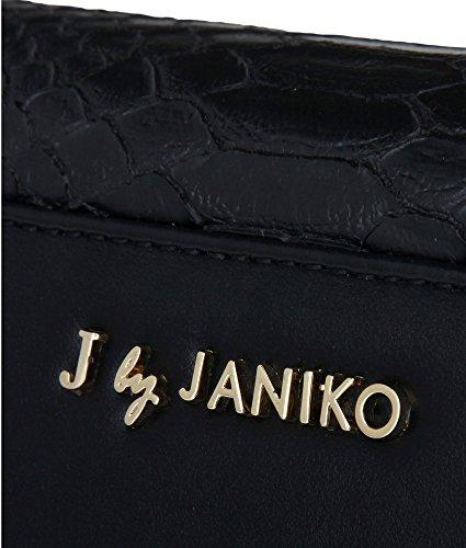 J. by Janiko, Poschette giorno donna Nero nero Breite 23,5 cm, Höhe 13,5 cm, Tiefe 5,5 cm