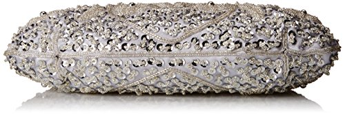 Evening Silver Collection Myra Beaded MG Bag OT4Aqwn6