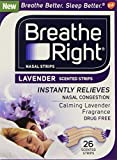 Breathe Right Lavender Tan Nasal Strips - 26 Count