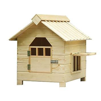 Casetas para perros Pet House Dog House Cat Cage/Hogar de Madera Maciza Dog Cage