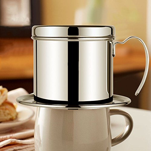 Coffee Maker Pot Stainless Steel Vietnamese Coffee Drip