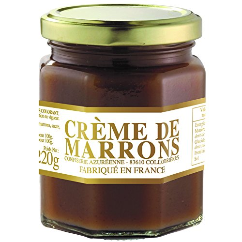 Artisanal Chestnut Cream - Creme de Marrons, Jar 220g