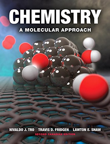 Chemistry: A Molecular Approach, Second Canadian Edition Plus MasteringChemistry with Pearson eText -- Access Card Package (2nd Edition) (Chemistry A Molecular Approach Second Canadian Edition)