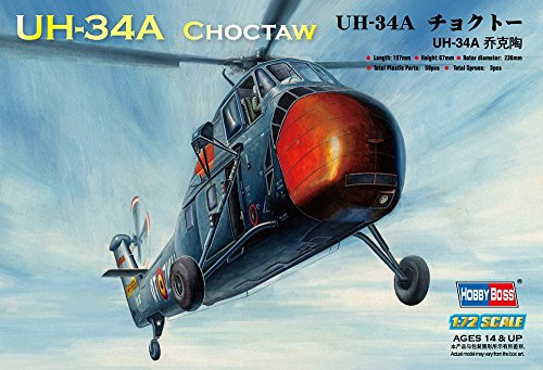 Hobby Boss UH-34A Choctaw Airplane Model Building Kit