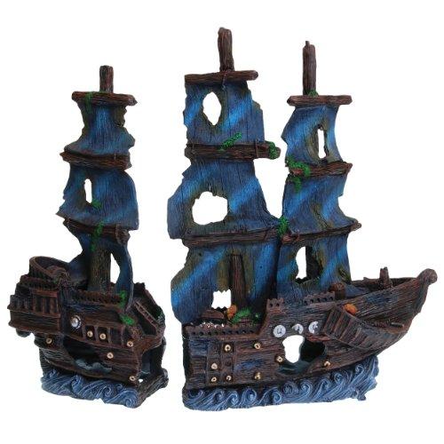 - Underwater Treasures 23893 2 Piece Atlantic Schooner Jumbo