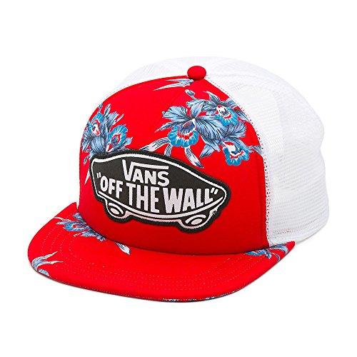 (Vans Beach Girl Trucker Hat Tomato Hawaiian OSFA)