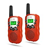 TOP Gift Gift for 3-12 Year Old Boys, Walkie Talkies for Kids Best Gifts for 3-12 Year Old Girls Toys for Boys Age of 3-12 Year Old Toys for Girls Age of 3-12 Year Old Gifts for Kids Red TGDJ04