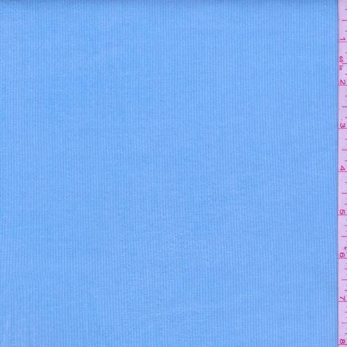 (Turquoise Blue Stretch Corduroy, Fabric by The Yard)