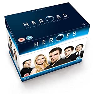 Heroes (Complete Series 1-4) - 18-Disc Box Set ( Heroes - The Complete Collection ) [ Blu-Ray, Reg.A/B/C Import - United Kingdom ]