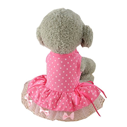 The Tick Halloween Costume For Sale (S-Lifeeling Sweet Spot Dress Spring Summer Teddy Dog Clothes Pet Costumes)