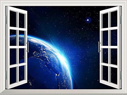 Earth in Universe Wall Mural