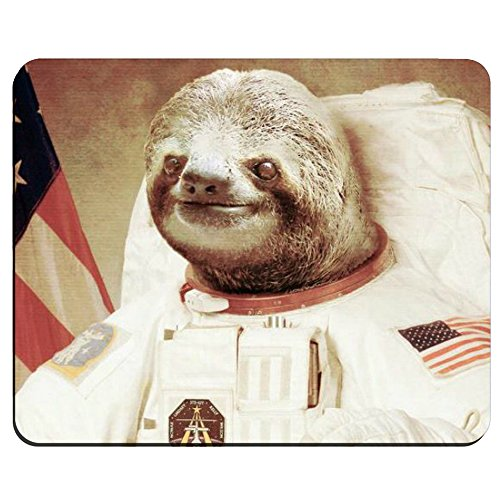 Astronaut-Sloth-Customized-Mouse-Pad-Rectangle-Mouse-Pad-Gaming-Mouse-mat
