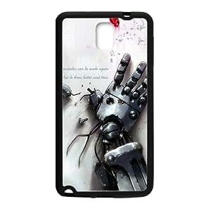 Robot Red Diamond Black Samsung Galaxy Note3 case