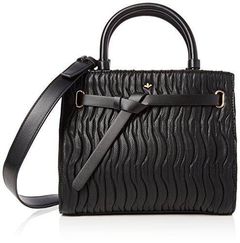Nica Women's Selma Top-Handle Bag Black (Black Quilt)