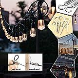 Belio String Light Hanging Kit,Stainless Steel