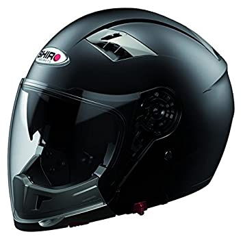 Casco integral y moto jet transformable SHIRO SH-414 SYSTEM-Casco para moto doble