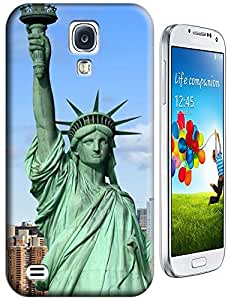 Sangu Statue of Liberty Upper Body TPU Case / Cover for Samsung Galaxy S4 - Style2