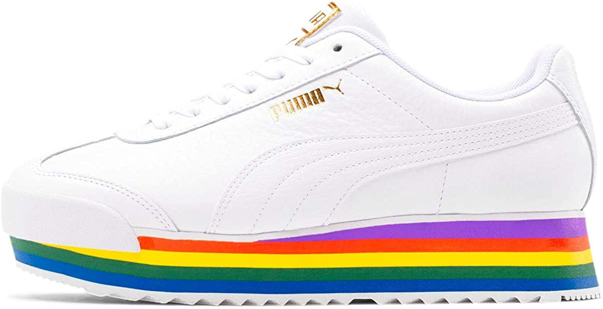 PUMA - Womens Roma Amor Rainbow Shoes