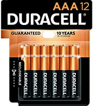 Duracell - CopperTop AAA Alkaline Batteries - long lasting, all-purpose Double A battery for household and bus