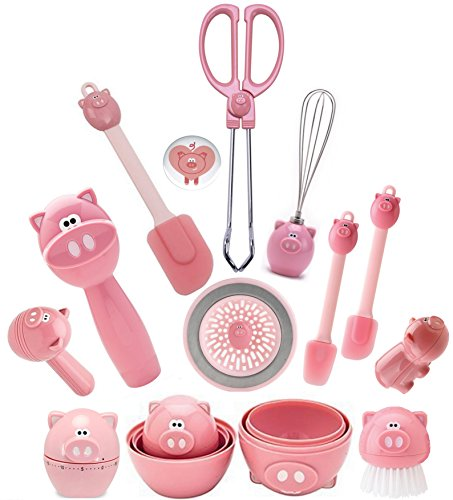 Joie Oink Oink Kitchen Gadgets Set of 12 -