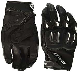 Joe Rocket Men's Cyntek Motorcycle Gloves (Matte Black, X-Large)