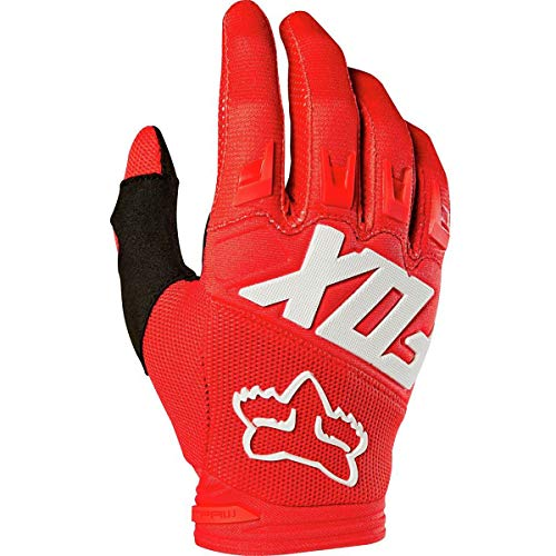 Fox Racing 2019 Youth Dirtpaw Gloves - Race (SMALL) (RED) ()