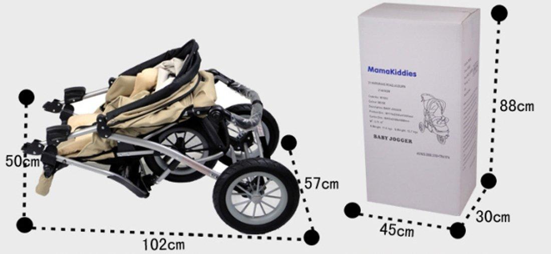 Angebébé - Cochecito todoterreno con 3 ruedas neumáticas: Amazon.es: Bebé