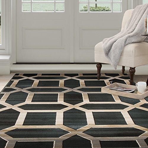 Lavish Home Opus Art Deco Area Rug, 3'3